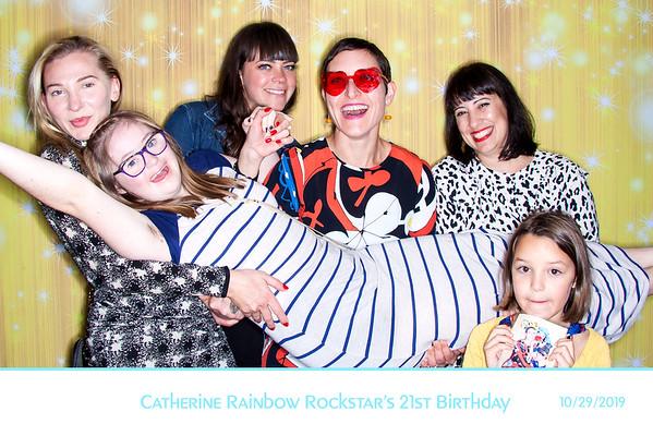 Catherine Rainbow Rockstar's 21st Birthday