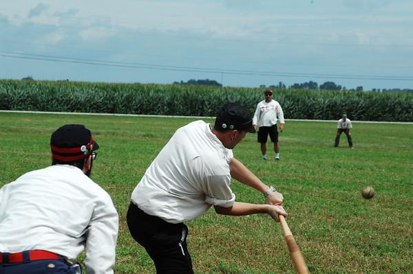 07-22-17 NEWS Sauder Village Vintage Baseball