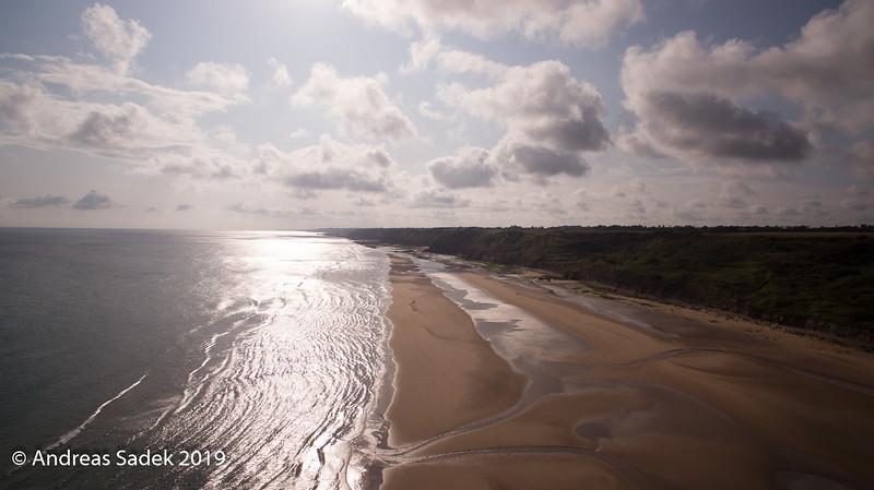 Utha Beach von oben