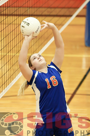 10-26-15 Lincoln Volleyball vs MMS