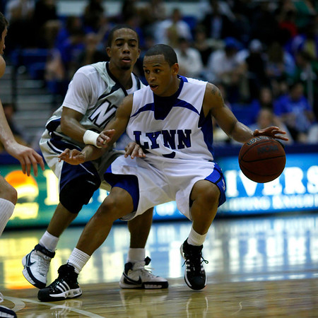Lynn University Men's Basketball vs Nova Southeastern University - January 26, 2008, 7:30pm, Boca Raton, Florida