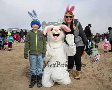 2018-3-24 Hampton Rec. Annual Easter Egg Hunt at Hampton Beach