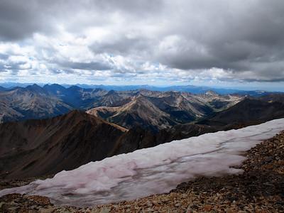La Plata Peak (14,336') - 8.21.10