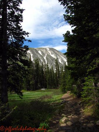 Pawnee Peaks Traverse 7/1/2010
