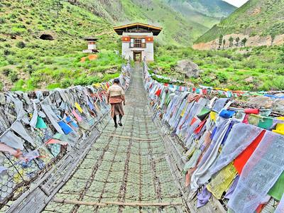 Iron Chain Bridge, Tachog Lhakhang