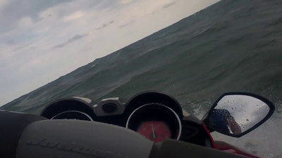 Waverunning on Lake Erie