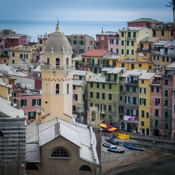 The next village is Corniglia, then Manarola, and finally Riomaggiore