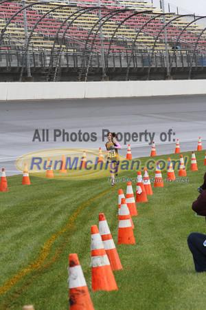 3 Mile Mark, D4 Girls - 2013 MHSAA LP XC Finals