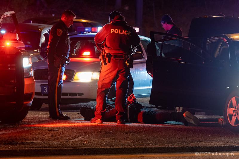 Brentwood Pursuit Arrest 01-26-2021
