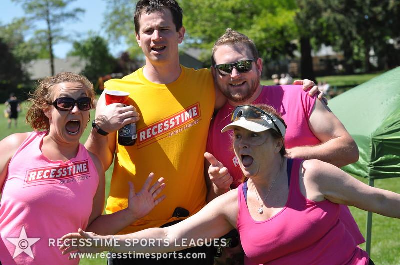 Recesstime Sports Leagues Portland Kickball Spring 2013 Dodgeball Bowling Ping Pong Mushball - 038