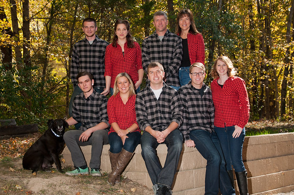 Crafton Family, Fall 2015