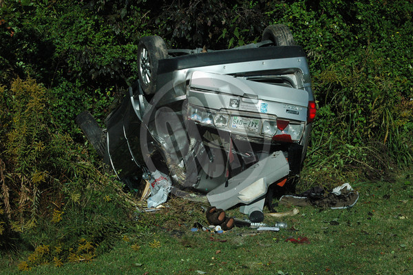 10-11-2013_Rollover Crash on Celina Hwy