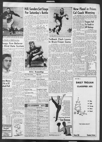 Daily Trojan, Vol. 43, No. 46, November 20, 1951