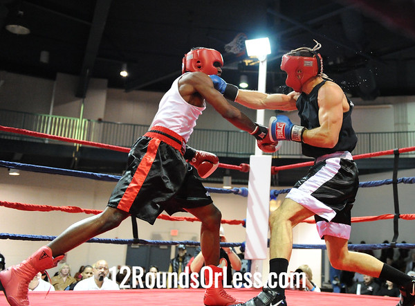 De'Aaron Mitchell (Southside B.C.) vs Josh Rosenberger (Burnside B.C.)  152 Pounds-Sub-Novice Bout # 2
