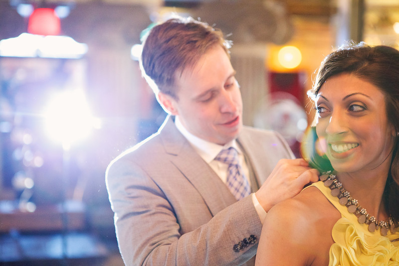 Le Cape Weddings - Neha and James Engagement Session at Salvage One Chicago - Indian Wedding  039.jpg