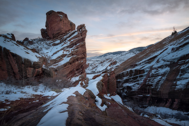 Ancient Winter || Red Rocks
