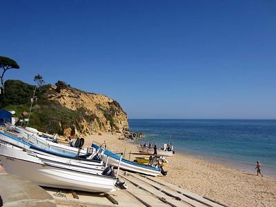 Sunday 16 March 2014 : Olhos d'Agua, Algarve