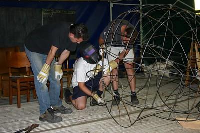 Bloemencorso 2006 - Wagenbouw (26 juli)