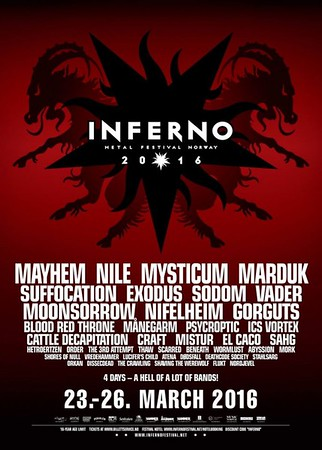 BLOOD RED THRONE – Inferno Festival 2016