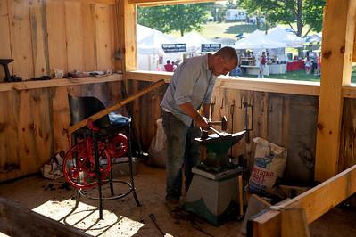 Bolton Fair 2010 - Blacksmith Shop