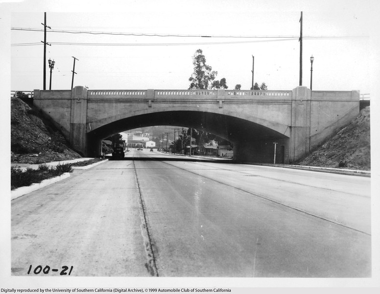 Bridge over Myra Street