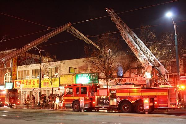November 29, 2012 - 2nd Alarm - 368 Spadina Ave.