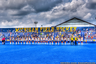 8-30-15 Michigan Field Hockey Vs Wake Forest