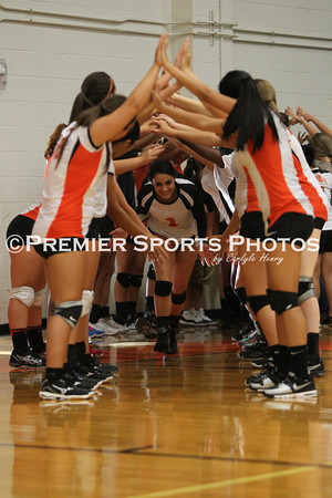 La Porte Varsity Volleyball vs Klein Forest 8/27/2013