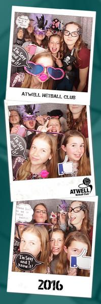 Atwell Netball Club 2016 Photostrips