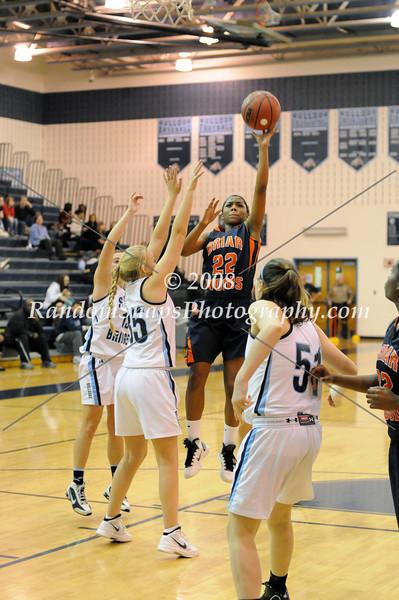 Battle of the Burn: Game 1 -  - Briar Woods @ Stone Bridge -12/27/2011 (Girls)