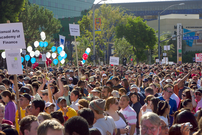 Now in its 23nd year, AIDS Walk Los Angeles is Southern California's largest HIV/AIDS