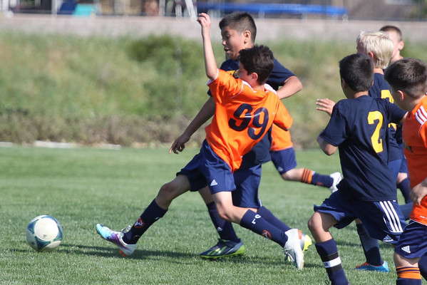 Elk Grove Orange vs Galaxy Blues Gold