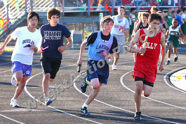 2011 06 02 Boys 4 x 800m Relay Finals