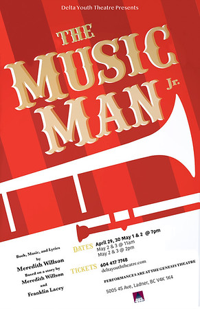 Delta Youth Theater Music Man 2020