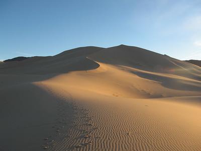 Ibex Dunes in Death Valley NP 11.19.06