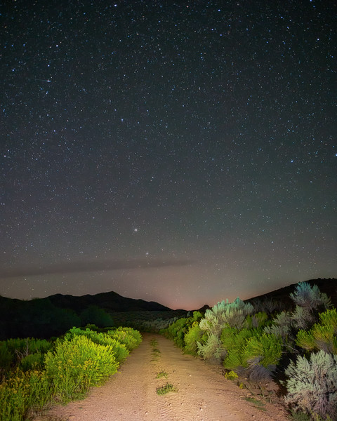 Night on a Dirt Road
