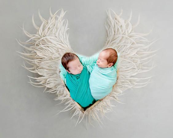 Newborn Vladimir Andrei & Tudor Alexandru