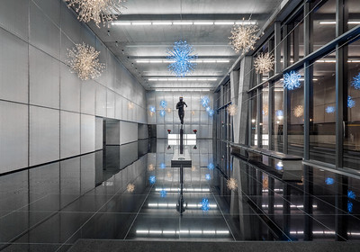 Reston Station Christmas Decorations 2019