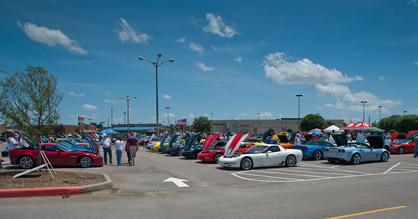 Tri City Corvettes Car Show 2014