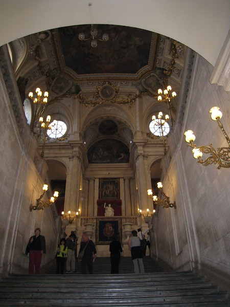 Inside royal palace