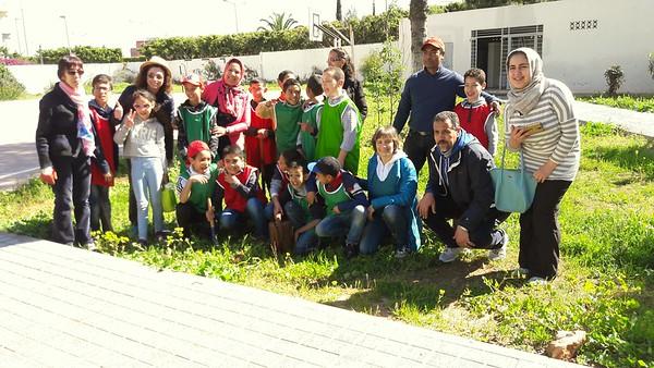 Action 2 Plantation Ecole Val Fleuri