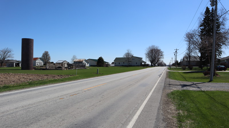 Marion Township House and Fire Annex are up ahead on the right.