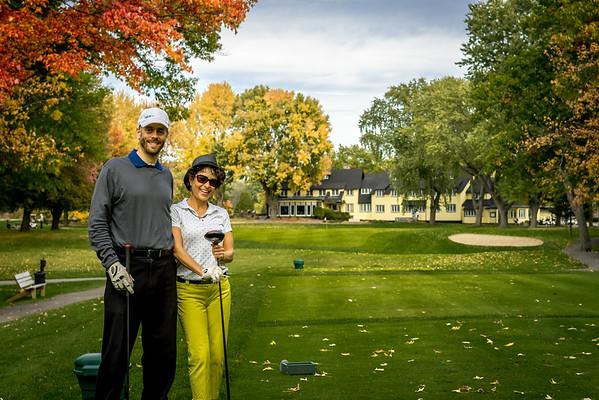 Kanawaki - Golf with Thierry & Anne-Marie