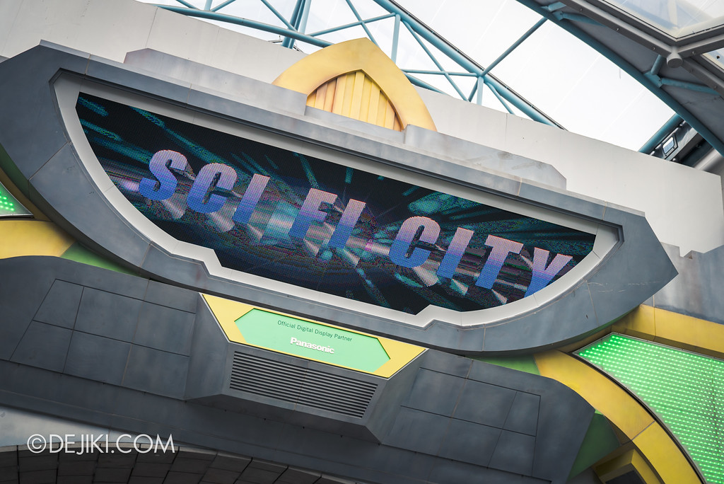 Universal Studios Singapore Park Update August 2017 - Sci-Fi City animation
