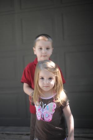 Max and Zoe Portraits
