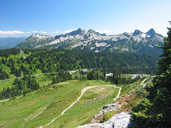 Paradise, Mount Rainier National Park, Washington.