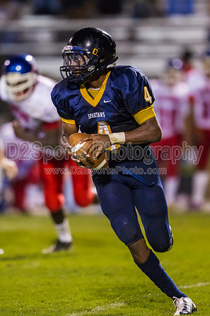 Mt Tabor Spartans vs Parkland Mustangs Varsity Football 9/7/2012