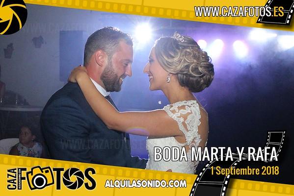 BODA MARTA Y RAFA - 1 SEPTIEMBRE 2018