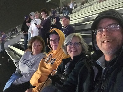 2019 September Cal Husky game with Jon and Ana