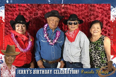 Jeremiah's 80th Birthday (Mobile Phone Party Pix)